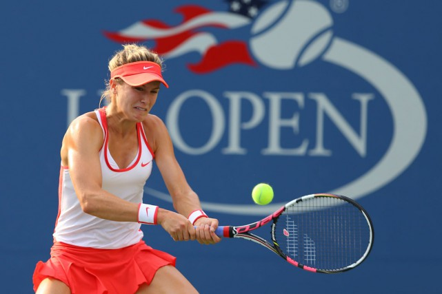 Eugenie Bouchard s'attaque à une organisation puissante en... (Photo Jerry Lai, archives USA Today)
