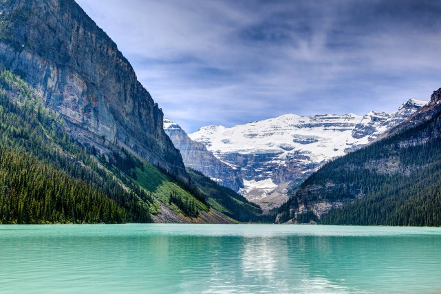 Le lac Louise, en Alberta.... (Photo Thinkstock)