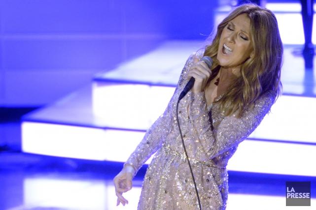 Céline Dion rendra hommage aux victimes des attentats de Paris à la soirée des... (PHOTO BERNARD BRAULT, ARCHIVES LA PRESSE)