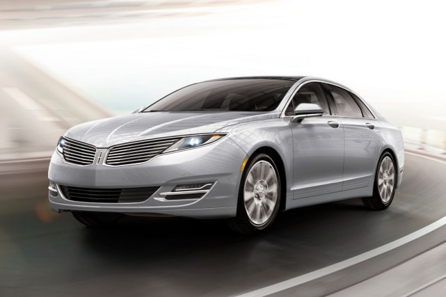 La Lincoln MKZ... (Photo fournie par Lincoln)