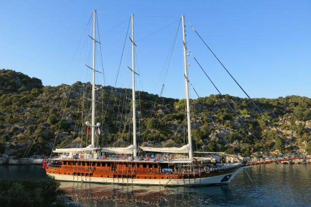 Une croisière de yoga en Turquie.... (Photo fournie par Yoga Cruise)