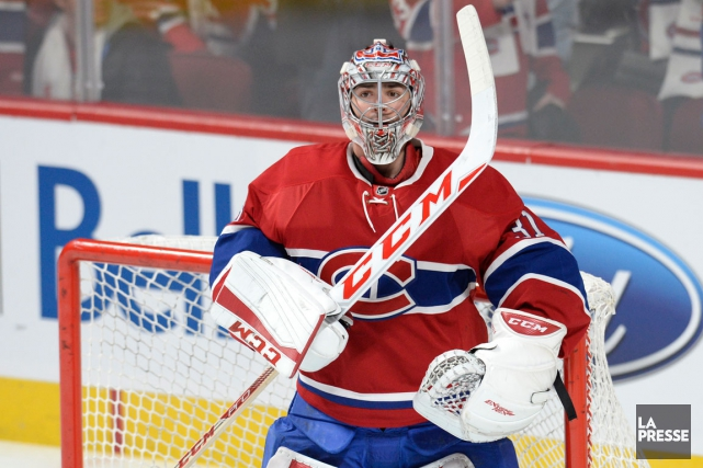 Carey Price sera de retour devant le filet... (Photo Bernard Brault, archives La Presse)