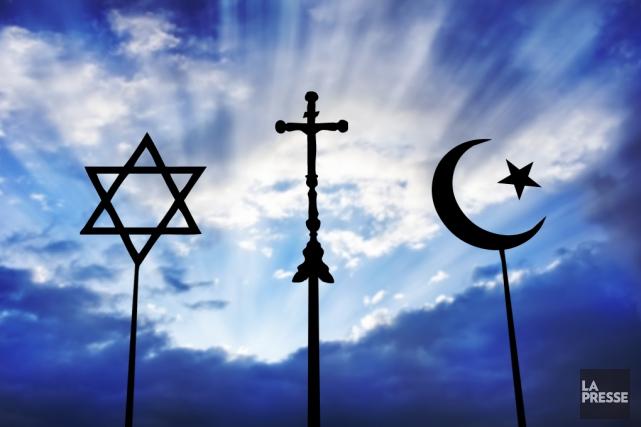 Si rien ne justifie le recours au terrorisme religieux du groupe État... (PHOTOMONTAGE LA PRESSE)