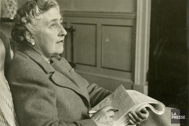 Dans son autobiographie, Agatha Christie écrit que de... (PHOTO ARCHIVES LA PRESSE)