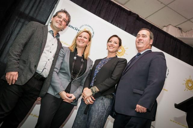 Pierre Girard, Diane Lafontaine, Sarah McLachlan et Daniel...