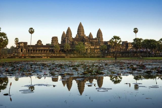 Le temple d'Angkor Wat, au Cambodge.... (Photos.com)