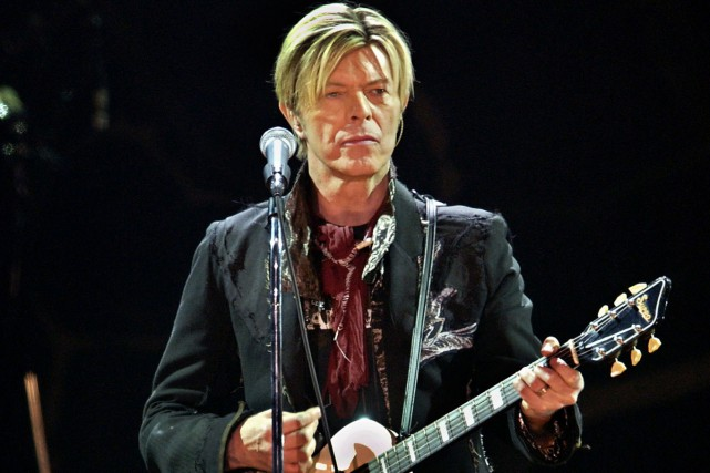 David Bowie a dévoilé le clip du premier single de son prochain album,... (PHOTO ARCHIVES AFP)