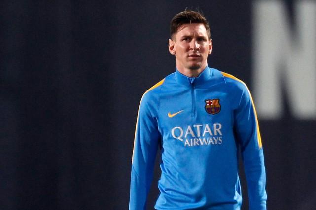 Lionel Messi est maintenant rétabli de sa blessure... (Photo Manu Fernandez, AP)