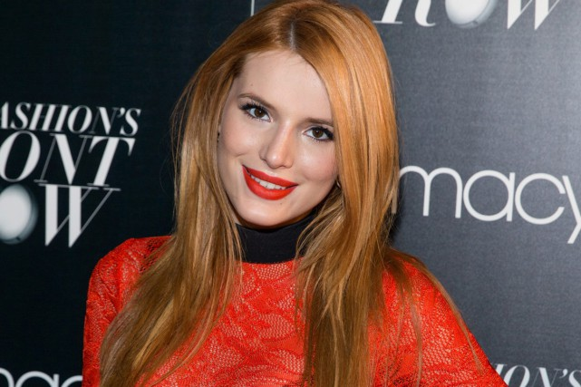 Bella Thorne... (PHOTO ARCHIVES AP)
