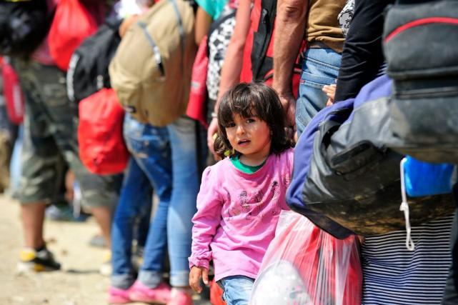 La promesse de Justin Trudeau d'accueillir 25000 réfugiés... (Photo fournie par UNICEF Canada)