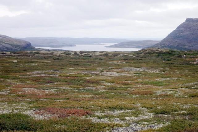 Le réchauffement du permafrost affecte les communautés du... (PHOTO CATHERINE HOURS, ARCHIVES AFP)