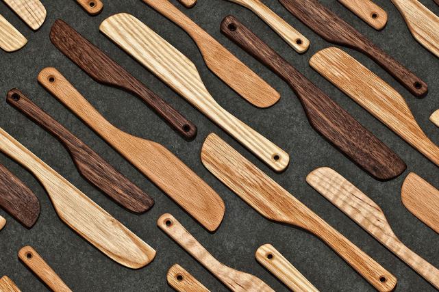 Les couteaux à tartiner d'Atelier-D... (Photo fournie par Haut+Fort)