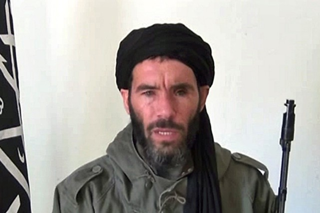 Mokhtar Belmokhtar, alias le borgne, chef du groupe... (PHOTO ARCHIVES AFP)