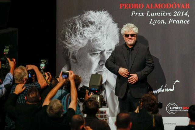 Pedro Almodóvar a reçu le prixLumière 2014, à... (PHOTO ARCHIVES REUTERS)