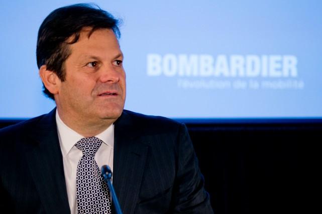 Pierre Beaudoin, président de Bombardier... (PHOTO DAVID BOILY, LA PRESSE)