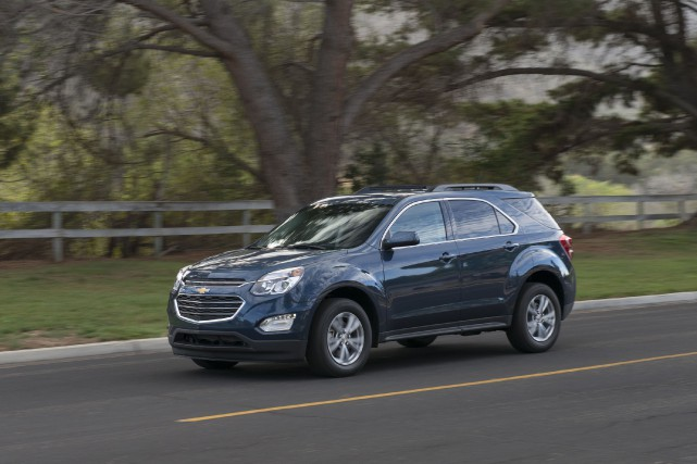 Le Chevrolet Equinox 2016... (PHOTO FOURNIE PAR CHEVROLET)