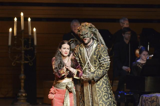 Florie Valiquette dans le rôle de Zémire dans... (Catherine Lefebvre, collaboration spéciale)