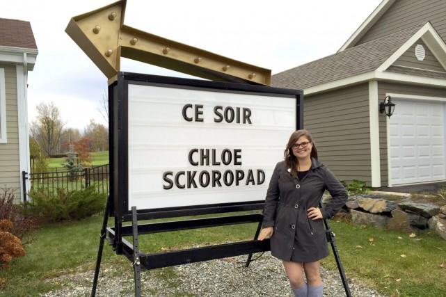 Avec Chloé, le folk sera à l'honneur.... (Fournie par TVA)