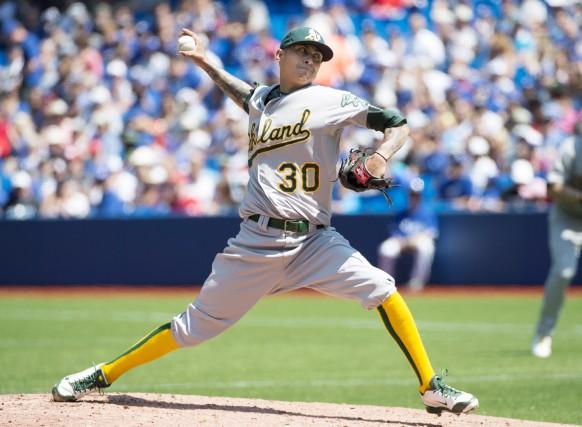Jesse Chavez... (PHOTO ARCHIVES LA PRESSE CANADIENNE)