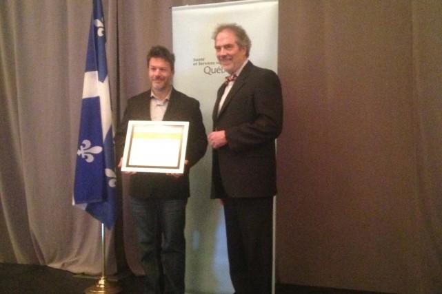 Le Prix québécois de la cancérologie a été... (Photo courtoisie)