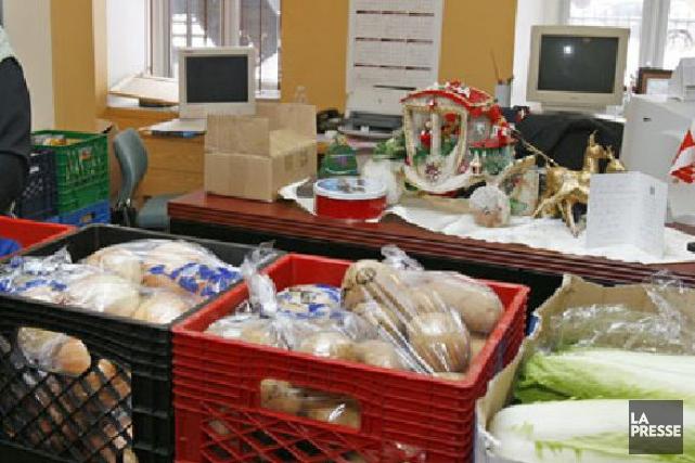 Le Bilan-Faim des banques alimentaires décrit une réalité... (Photothèque La Presse)