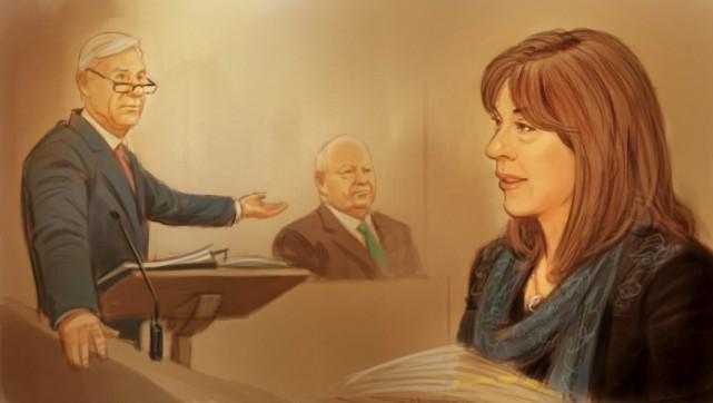 À gauche, Donald Bayne, l'avocat de Mike Duffy... (Greg Banning, La Presse Canadienne)