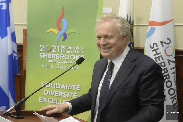 Le président d'honneur du comité de candidature pour... (Imacom, Maxime Picard)