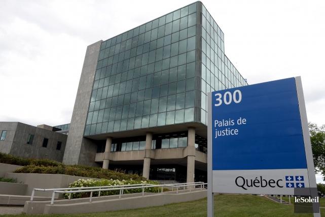 Serge Trudeau a reconnu hier aupalais de justice... (Photothèque Le Soleil, Erick Labbé)
