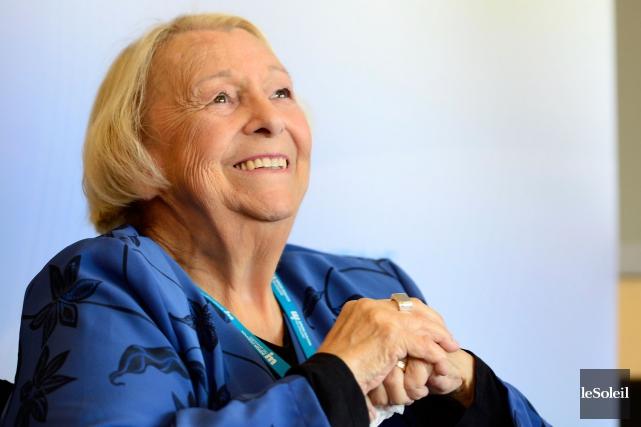 L'ancienne ministre péquiste Lise Payette a précisé que... (Photothèque Le Soleil)