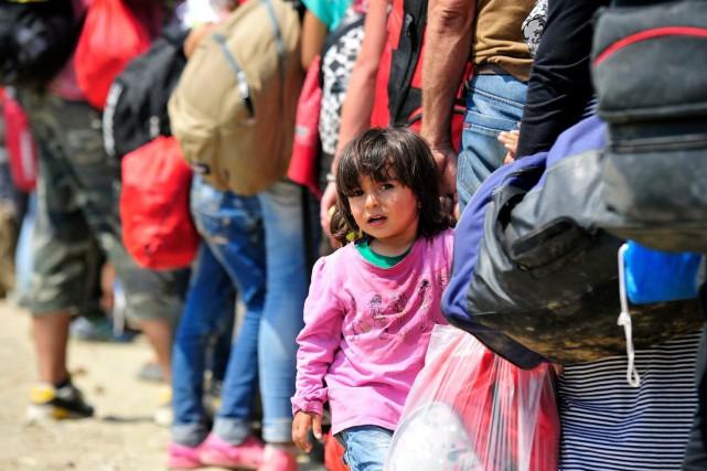 Le gouvernement Trudeau a promis d'accueillir 25 000... (Fournie par UNICEF Canada)