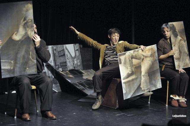 Éric Chalifour, Patrick Simard et Guylaine Rivard forment... (Photo Le Quotidien, Rocket Lavoie)