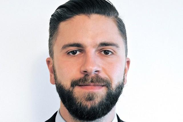 Maxime Carrier-Légaré, membre du personnel de l'Assemblée nationale.... (Tirée de Twitter)