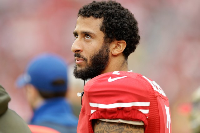 Colin Kaepernick était jusque là un cas probable pour... (PHOTO BEN MARGOT, ARCHIVES AP)