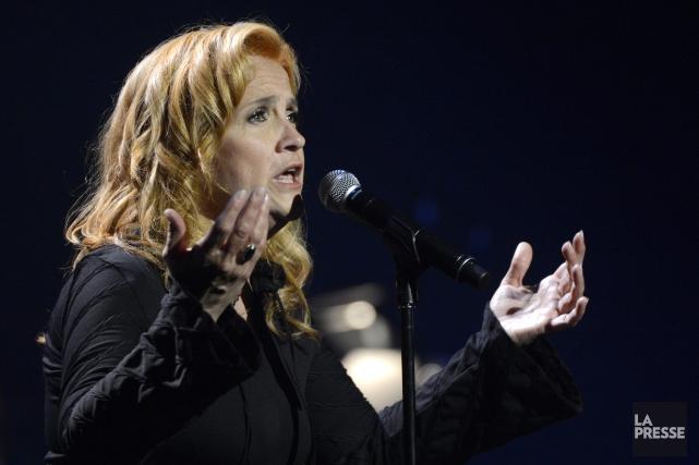Marie-Denise Pelletier chantera en compagnie de Jeunesse en... (Archives La Presse)