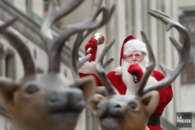 Le père Noël vient à Montréal chaque année... (PHOTO ROBERT SKINNER, ARCHIVES LA PRESSE)