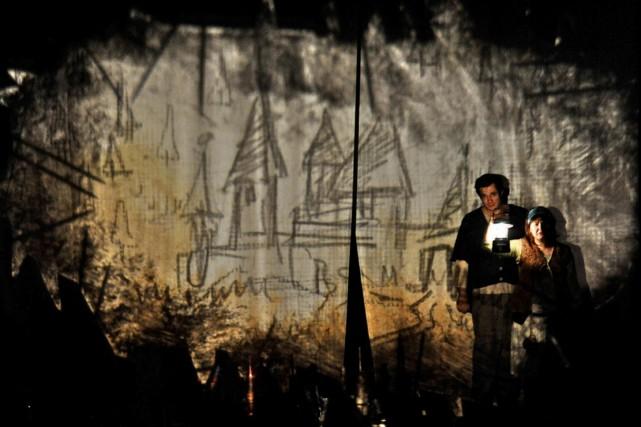 La pièce Un château sur le dos sera... (Photo Courtoisie)