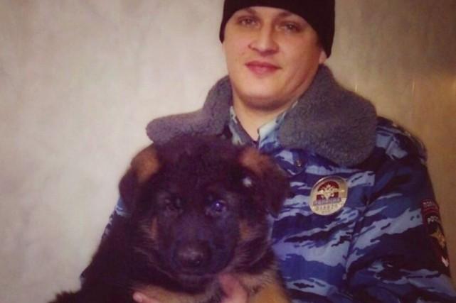 Âgé de deux mois,Dobrynyavit dans un centre pour... (AP, Ministère de l'Intérieur russe)