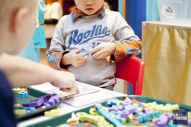Les centres de la petite enfance de la... (Archives La Presse)