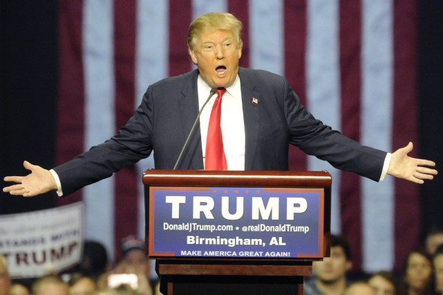 Donald trump a assuré que ses propos avaient... (PHOTO ERIC SCHULTZ, ASSOCIATED PRESS)