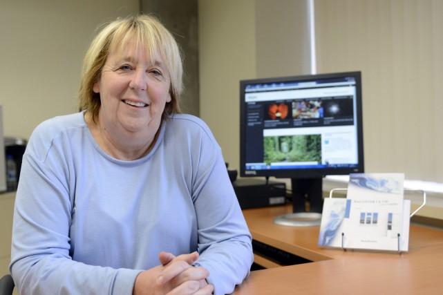 La professeure de l'UQAC Nicole Bouchard s'intéresse aux... (Photo Le Progrès-Dimanche, Jeannot Lévesque)