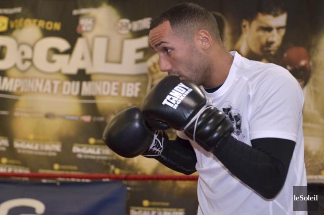 Pour James DeGale, la boxe est une affaire... (Le Soleil, Yan Doublet)
