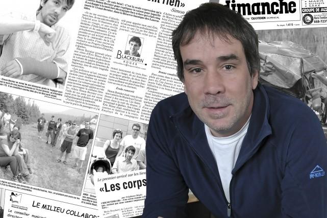 Simon Bernier est le seul survivant de l'accident... (Photo Le Progrès-Dimanche, Rocket Lavoie)