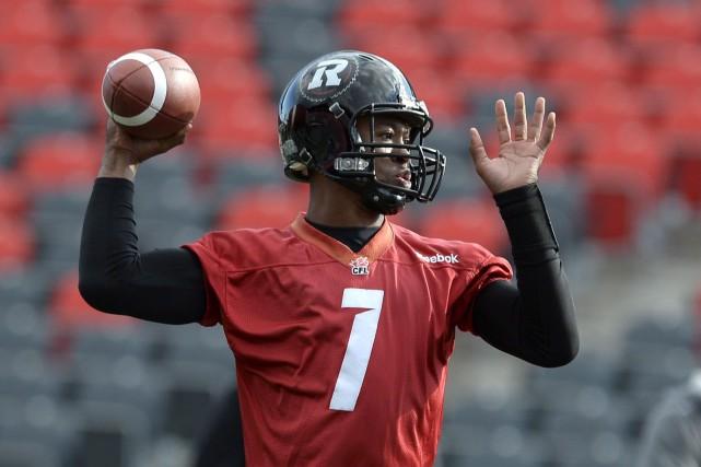 Le quart-arrière Henry Burris tentera de mener le... (La Presse Canadienne, Justin Tang)