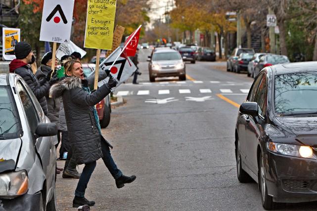 Une autre série de grèves tournantes dans l'éducation... (Photo Patrick Sanfaçon, La Presse)