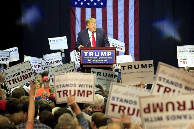 Donald Trump, un milliardaire américain, brigue les primaires... (Photo Marvin Gentry, Reuters)