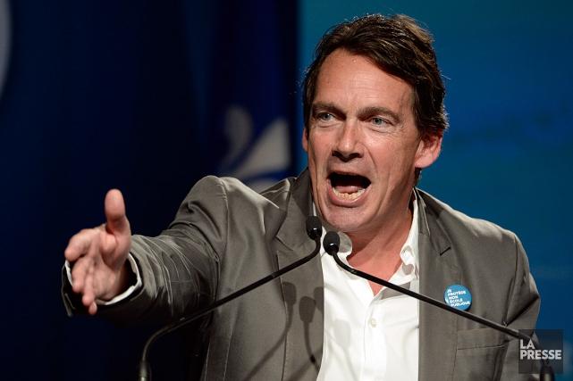Le chef du Parti québécois,Pierre Karl Péladeau.... (PHOTO BERNARD BRAULT, ARCHIVES LA PRESSE)