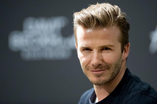 David Beckham... (AFP, Johannes Eisele)