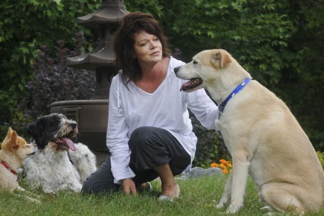 La spécialiste du comportement canin Irène Poisson (sur... (François Gervais)