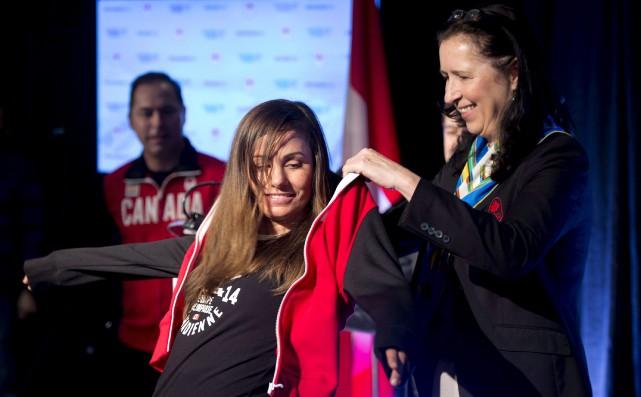 La nouvelle présidente du Comité olympique canadien, Tricia... (La Presse Canadienne)