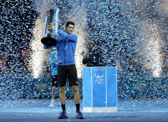 Le numéro un mondial Novak Djokovic a écrit... (The Associated Press)